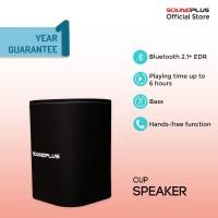 Soundplus - Cup | Portable Speaker Bluetooth Murah Promo LED Mini