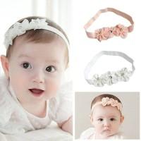 Bando Tri Flower Untuk Bayi dan Anak Bandana Headband, Best Seller!