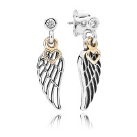 anting sayap PANDORA angel wing earring ORI