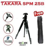 Cam store terbaru TRIPOD TAKARA SPM 25B BALLHEAD PROFESSIONAL KAMERA T
