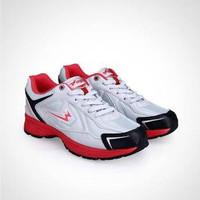Sepatu Eagle Scorpion Grey/Red Running size 37