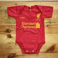 Baby Jumper bola Liverpool Home
