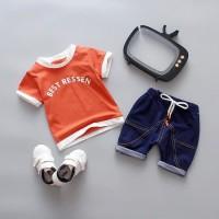 Baju Setelan Anak Lakl - Laki | Baju Anak Import Murah - 2 tahun
