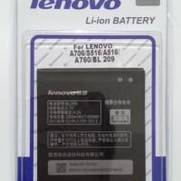 BATTERY BATERAI LENOVO A706 S516 A516 A760 BL209 ORIGINAL