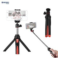 BENRO MK10 Smart Mini Tripod Tongsis (for HP & Action Cam)