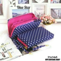 Fashion Bag wanita dompet motif star bintang murah