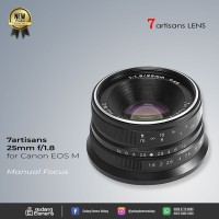 [NEW] 7artisans 25mm F1.8 For Canon EF-M Mount @Gudang Kamera Malang