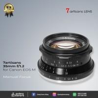 [NEW] 7artisans 35mm F1.2 For Canon EF-M Mount @Gudang Kamera Malang