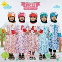 DRESS ANAK FLOPPE miulan baju gamis anak terbaru miulan harga murah