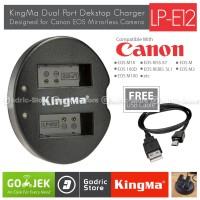 Kingma Charger LP-E12 for Canon EOS M2 M10 M100 100D Rebel SL1 Etc