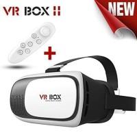 VR Box with Remote Bluetooth Virtual 3D Reality Glasses VR Box 2.0