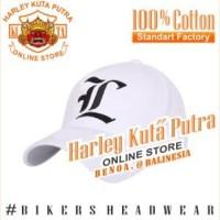 Topi Baseball L Putih Import Harley Davidson Exclusive