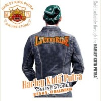 Jaket Parka Kulit Jaket Harley Davidson Patch Badge Bordir Series 10