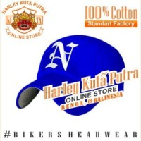 Topi Baseball N Blue Import Bordir Import Harley Davidson Exclusive