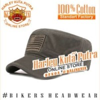 Topi Komando Military Tactical Bordir Import Caferacer Custom