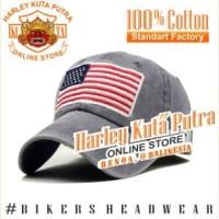 Topi Harley Davidson United States America Bendera Amerika Marine