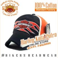 Topi Harley Bikers Import Harley Davidson Tribal Import Bordir