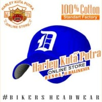 Topi Baseball D Blue Bordir Import Harley Davidson Exclusive