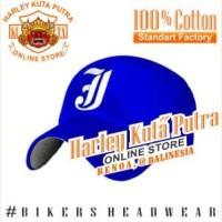 Topi Baseball J Blue Raphel Harley Davidson Exclusive