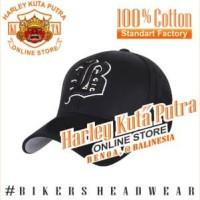 Topi Baseball B Hitam Import Harley Davidson Exclusive