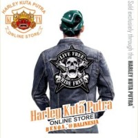 Jaket Parka Kulit Badge Bordir Series Jaket Harley Davidson Patch