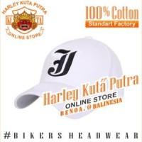 Topi Baseball J Putih Bordir Import Tactical Harley Davidson Exclusive