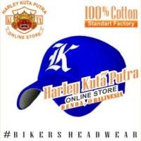 Topi Baseball K Blue Raphel Harley Davidson Exclusive
