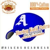 Topi Baseball A Biru Import Harley Davidson Exclusive