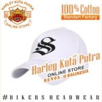 Topi Baseball S Putih Import Bordir Import Tactical Harley Davidson