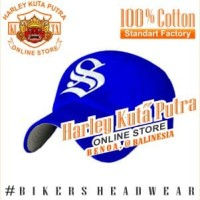 Topi Baseball S Blue Import Harley Davidson Exclusive