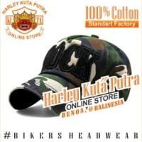 Topi Baseball Loreng Import Harley ROCK Import Harley Davidson Camo