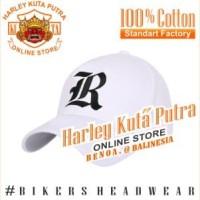 Topi Baseball R Putih Raphel Harley Davidson Exclusive