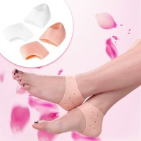 Pelindung Tumit Kaki Heel Protector Silicone Moisturizing Massage Gel