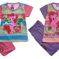 Jual Baju Kaos Atasan T-Shirt Setelan Murah Anak Little Pony LPHP112717 Murah