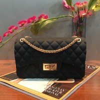 Fashion Bag GR1081BIG Tas Pesta Jelly Matte Import Tali Gold e89e31cc5d