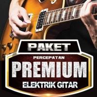 Buku Gitar Paket Premium Percepatan Elektrik Gitar