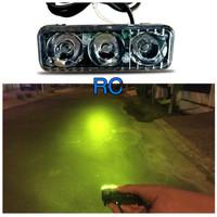lampu sorot worklight drl foglamp motor mobil led 3 mat