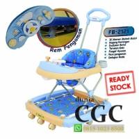 Perlengkapan Bayi/ Family Baby Walker Car Stir 2121 Ayun Music Harga