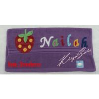 Grosir Handuk Mandi Merk Berries Dan Merah Putih Custome Nama Gambar