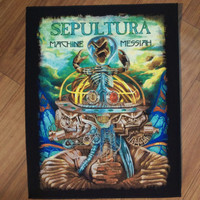 SEPULTURA OFFICIAL BACKPATCH