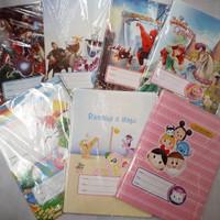 Sampul Buku Quarto 85gsm Fancy-Batik (Per Pack : 20 Pcs)