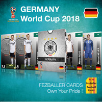Kartu Bola Fezballer Cards GERMANY World Cup 2018