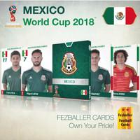 Kartu Bola Fezballer Cards MEXICO World Cup 2018