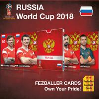 Kartu Bola Fezballer Cards RUSSIA World Cup 2018