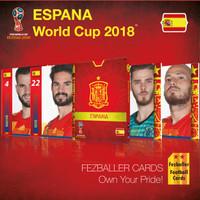 Kartu Bola Fezballer Cards ESPANA World Cup 2018