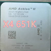 Processor AMD Athlon X4 651K quadcore 3 Ghz socket FM1