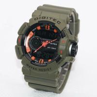 ORIGINAL !! 100% ORI !! Jam Tangan Digitec Original DG-2080 Green Army