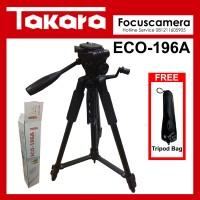 New Tripod Takara ECO 196A For kamera Mirroless DSLR Canon Sony Nikon