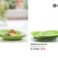 Tupperware Blossom Plate Hijau