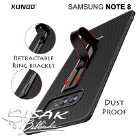 XUNDD Samsung Note 8 Case - Ring Bracket - Cover HP Slim Sarung Tipis
